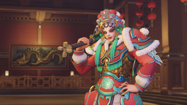Brigitte was nerfed in Overwatch's latest PTR patch, introduced Thursday