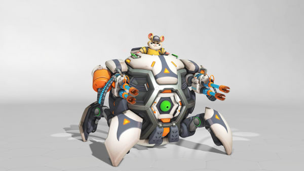 Lúcioball Wrecking Ball is one of seven new skins in Overwatch Summer Games 2019.