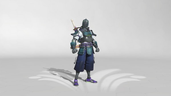 Kendoka Genji is now available in the Overwatch Summer Games event.