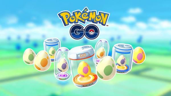 Pokémon GO eggs can hatch into scores of different Pokémon