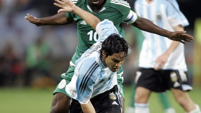 Así era el once de Argentina en la final del Mundial Sub 20 de 2005 ante Nigeria 9