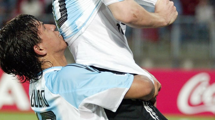 Así era el once de Argentina en la final del Mundial Sub 20 de 2005 ante Nigeria 12