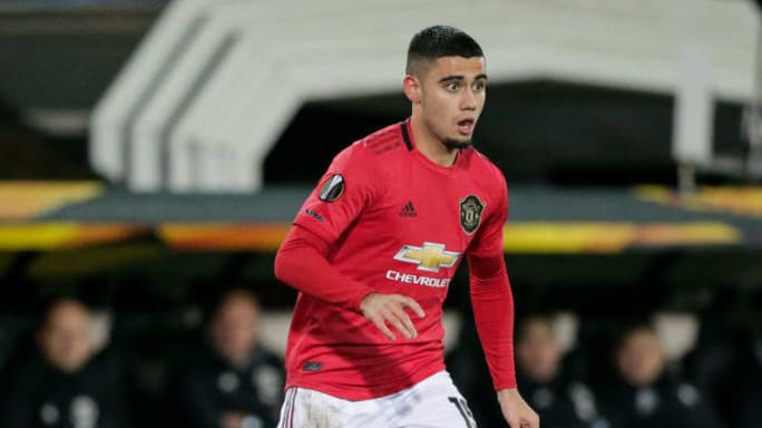 Andreas Pereira Manchester United Away Jersey