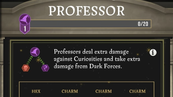 Wizards Unite Professor Skill Tree: Everything You Need to
