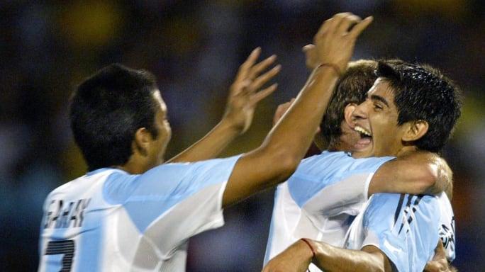 Así era el once de Argentina en la final del Mundial Sub 20 de 2005 ante Nigeria 2