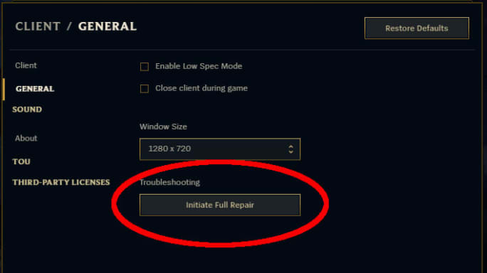 League of Legends Checking for Corruption: What it is and How to Fix