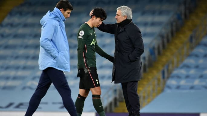 Son Heung-Min dismisses rumors of Jose Mourinho losing the Tottenham dressing room   Footy Area