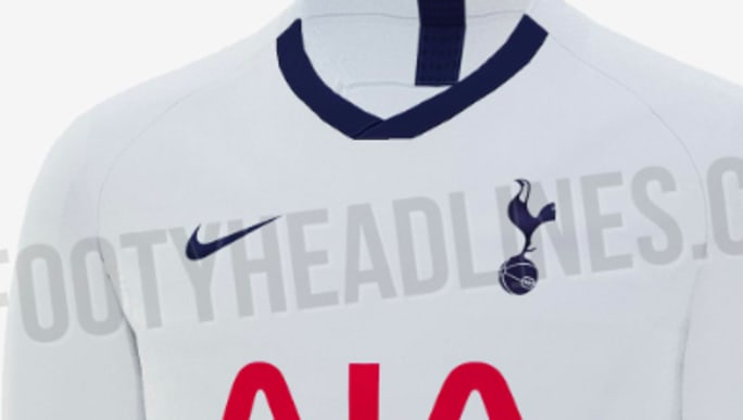 b95d9d03 Tottenham Home Kit 2019/20: Leaked Images of Plain Jersey Set to Divide  Supporters | 90min