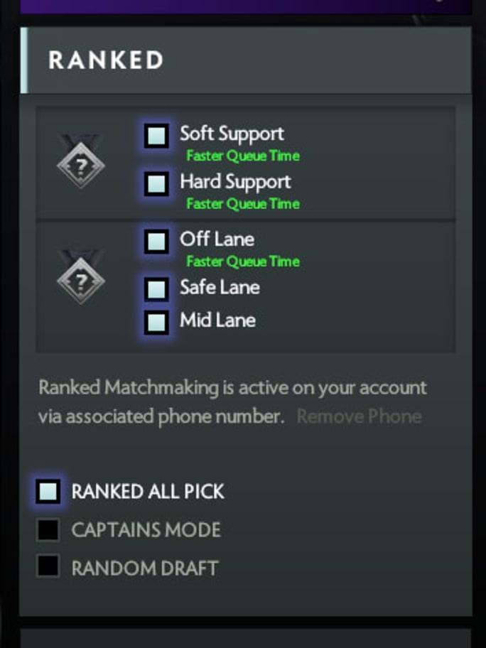 team matchmaking dota 2 ranking
