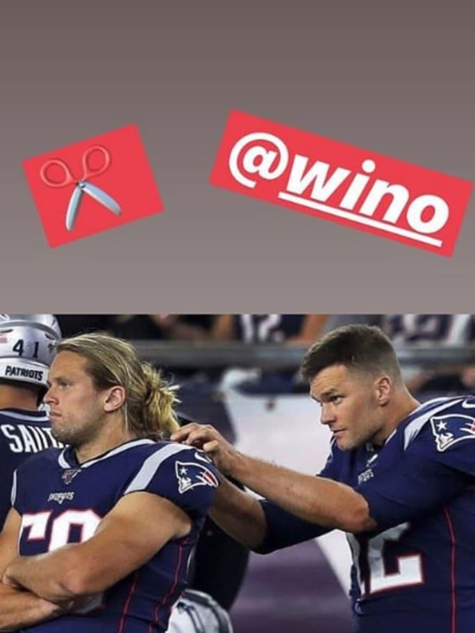 Tom Brady Threatens to Cut Patriots' Rookie Chase Winovich's