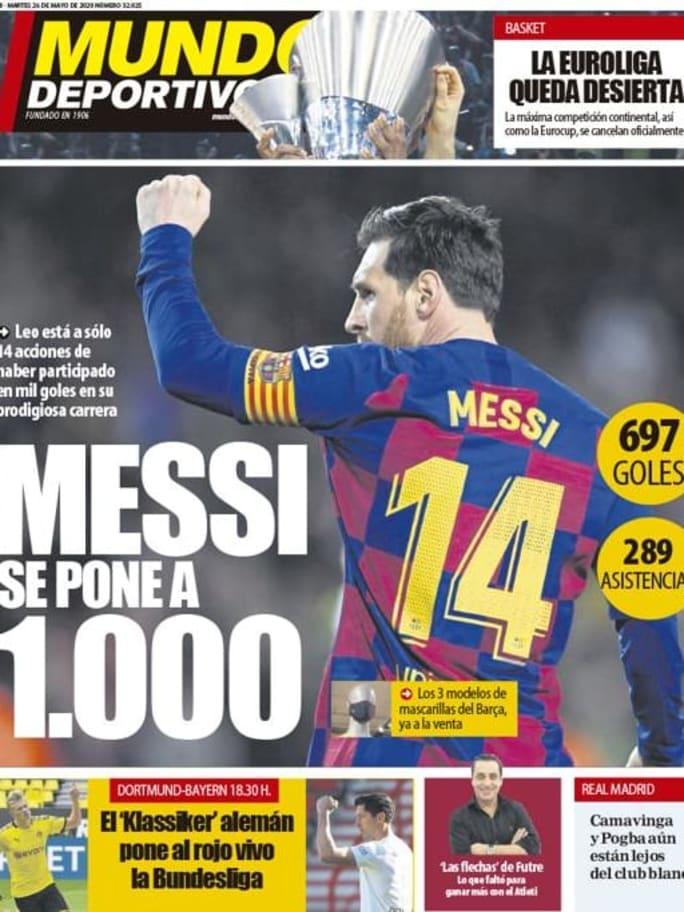 El Klassiker decisivo para la Bundesliga y la posible fecha de retorno del FC Barcelona en LaLiga, en las portadas 2