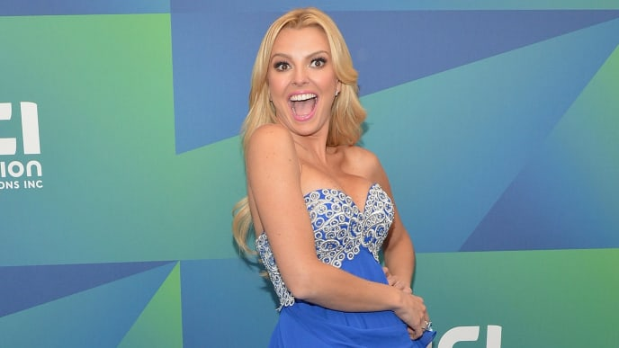 NEW YORK, NY - MAY 13:  Model Marjorie de Sousa attends the 2014 Univision Upfront at Gotham Hall on May 13, 2014 in New York City.  (Photo by Slaven Vlasic/Getty Images)