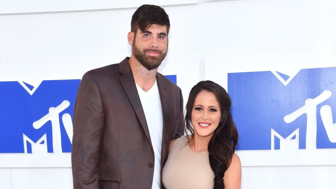 NEW YORK, NY - AUGUST 28:  David Eason and Jenelle Evans attend the 2016 MTV Video Music Awards at Madison Square Garden on August 28, 2016 in New York City.  (Photo by Jamie McCarthy/Getty Images)