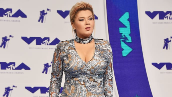 INGLEWOOD, CA - AUGUST 27:  Amber Portwood attends the 2017 MTV Video Music Awards at The Forum on August 27, 2017 in Inglewood, California.  (Photo by Frazer Harrison/Getty Images)