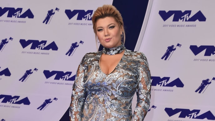 INGLEWOOD, CA - AUGUST 27:  Amber Portwood attends the 2017 MTV Video Music Awards at The Forum on August 27, 2017 in Inglewood, California.  (Photo by Alberto E. Rodriguez/Getty Images)