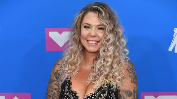 NEW YORK, NY - AUGUST 20: Kailyn Lowry attends the 2018 MTV Video Music Awards at Radio City Music Hall on August 20, 2018 in New York City.  (Photo by Nicholas Hunt/Getty Images for MTV)