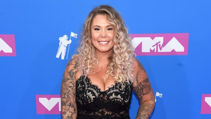 NEW YORK, NY - AUGUST 20:  Kailyn Lowry attends the 2018 MTV Video Music Awards at Radio City Music Hall on August 20, 2018 in New York City.  (Photo by Jamie McCarthy/Getty Images)
