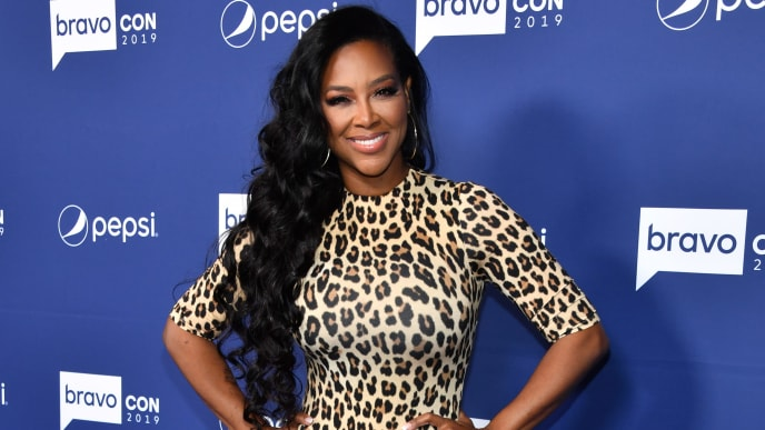 NEW YORK, NEW YORK - NOVEMBER 15: Kenya Moore attends the opening night of 2019 BravoCon at Hammerstein Ballroom on November 15, 2019 in New York City. (Photo by Dimitrios Kambouris/Getty Images)