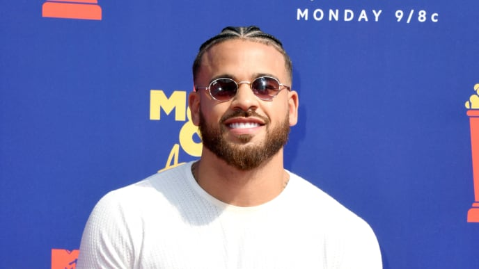 SANTA MONICA, CALIFORNIA - JUNE 15:  Cory Wharton attends the 2019 MTV Movie and TV Awards at Barker Hangar on June 15, 2019 in Santa Monica, California. (Photo by Jon Kopaloff/Getty Images)