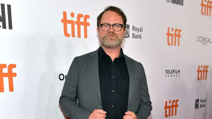 "TORONTO, ONTARIO - SEPTEMBER 06: Rainn Wilson attends the ""Blackbird"" premiere during the 2019 Toronto International Film Festival at Roy Thomson Hall on September 06, 2019 in Toronto, Canada. (Photo by Emma McIntyre/Getty Images)"