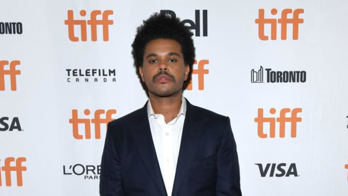 "TORONTO, ONTARIO - SEPTEMBER 09: The Weeknd attends the ""Uncut Gems""premiere during the 2019 Toronto International Film Festival at Princess of Wales Theatre on September 09, 2019 in Toronto, Canada. (Photo by GP Images/Getty Images)"