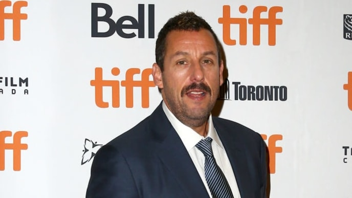 "TORONTO, ONTARIO - SEPTEMBER 09: Adam Sandler attends the ""Uncut Gems""premiere during the 2019 Toronto International Film Festival at Princess of Wales Theatre on September 09, 2019 in Toronto, Canada. (Photo by Tasos Katopodis/Getty Images)"