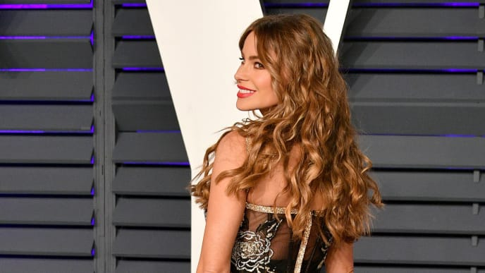 BEVERLY HILLS, CA - FEBRUARY 24:  Sofia Vergara attends the 2019 Vanity Fair Oscar Party hosted by Radhika Jones at Wallis Annenberg Center for the Performing Arts on February 24, 2019 in Beverly Hills, California.  (Photo by Dia Dipasupil/Getty Images)