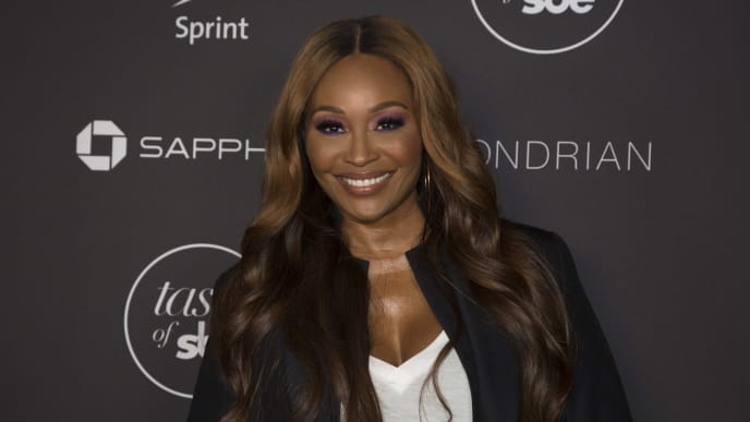 WEST HOLLYWOOD, CALIFORNIA - OCTOBER 19: Cynthia Bailey arrives for the 3rd Annual Taste of sbe with a special performance by Common at Mondrian Los Angeles on October 19, 2019 in West Hollywood, California. (Photo by Gabriel Olsen/Getty Images)