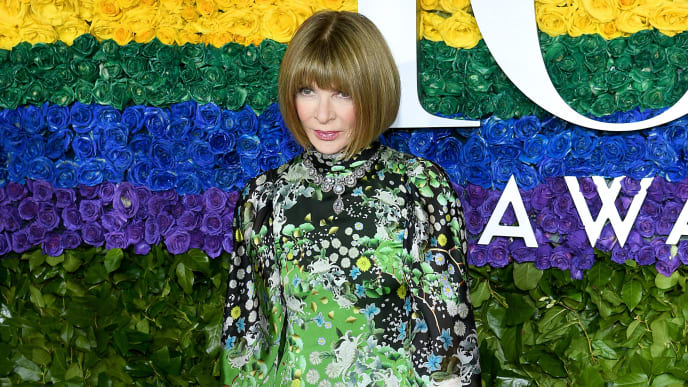 NEW YORK, NEW YORK - JUNE 09: Anna Wintour attends the 73rd Annual Tony Awards at Radio City Music Hall on June 09, 2019 in New York City. (Photo by Dimitrios Kambouris/Getty Images for Tony Awards Productions)