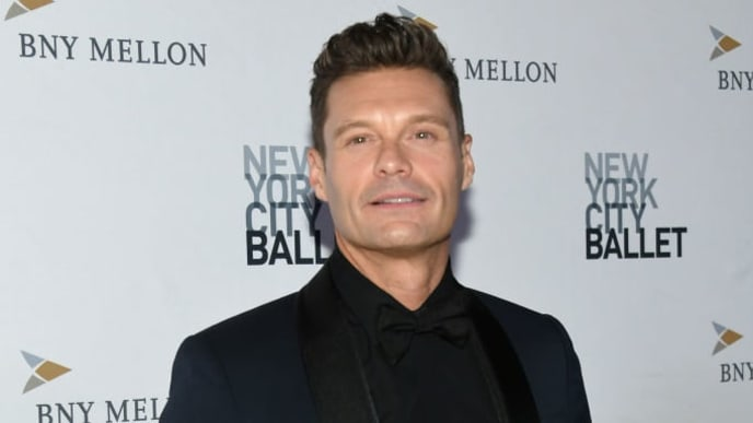 NEW YORK, NEW YORK - SEPTEMBER 26: Ryan Seacrest attends the 8th Annual New York City Ballet Fall Fashion Gala at David H. Koch Theater, Lincoln Center on September 26, 2019 in New York City. (Photo by Mike Coppola/Getty Images)