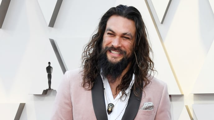 HOLLYWOOD, CALIFORNIA - FEBRUARY 24: Jason Mamoa attends the 91st Annual Academy Awards at Hollywood and Highland on February 24, 2019 in Hollywood, California. (Photo by Frazer Harrison/Getty Images)