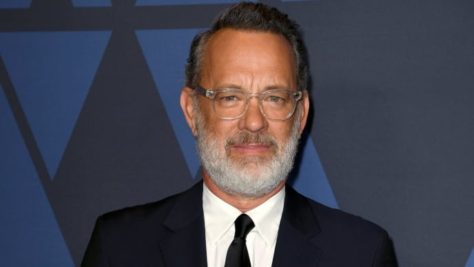 HOLLYWOOD, CALIFORNIA - OCTOBER 27: Tom Hanks attends the Academy Of Motion Picture Arts And Sciences' 11th Annual Governors Awards at The Ray Dolby Ballroom at Hollywood & Highland Center on October 27, 2019 in Hollywood, California. (Photo by Kevin Winter/Getty Images)