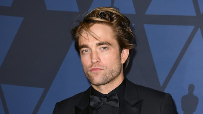 HOLLYWOOD, CALIFORNIA - OCTOBER 27: Robert Pattinson attends the Academy Of Motion Picture Arts And Sciences' 11th Annual Governors Awards at The Ray Dolby Ballroom at Hollywood & Highland Center on October 27, 2019 in Hollywood, California. (Photo by Kevin Winter/Getty Images)