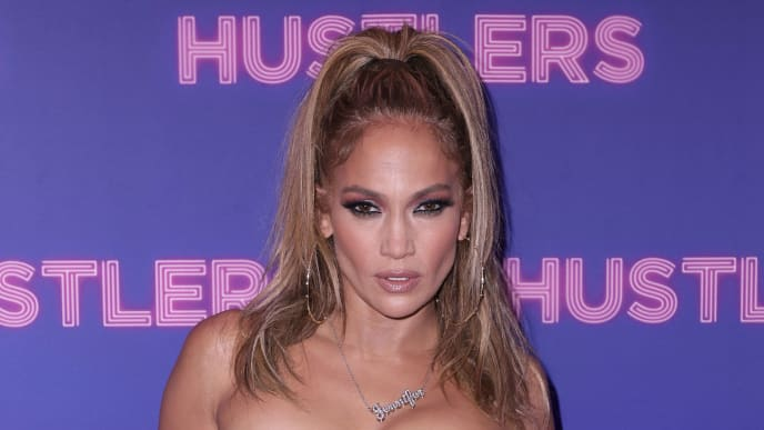 """NEW YORK, NEW YORK - SEPTEMBER 10: Jennifer Lopez attends Alexander Wang & STXfilms' New York Special Screening of """"Hustlers"""" on September 10, 2019 in New York City. (Photo by John Parra/Getty Images for STXfilms / Alexander Wang)"""