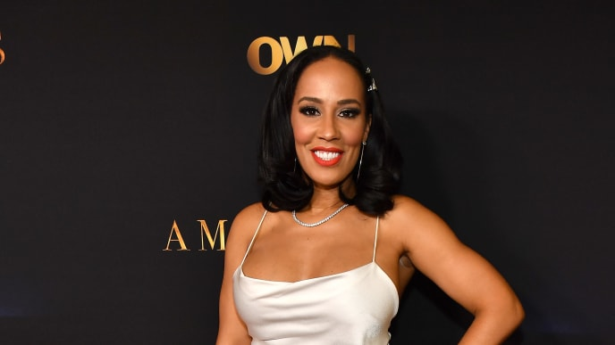 """ATLANTA, GEORGIA - JUNE 17:  TV personality Tanya Sam attends """"Ambitions"""" Premiere at The Gathering Spot on June 17, 2019 in Atlanta, Georgia. (Photo by Paras Griffin/Getty Images)"""