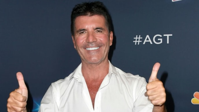 "HOLLYWOOD, CALIFORNIA - SEPTEMBER 18: Simon Cowell attends the Season 14 Finale of ""America's Got Talent"" at Dolby Theatre on September 18, 2019 in Hollywood, California. (Photo by Frazer Harrison/Getty Images)"