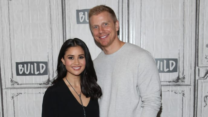 Sean Lowe and Catherine Giudici from 'The Bachelor.'