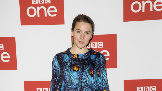 "LONDON, ENGLAND - MAY 07: Gemma Whelan attends the BBC One's ""Gentleman Jack"" Photocall at Ham Yard Hotel on May 07, 2019 in London, England. (Photo by Tristan Fewings/Getty Images)"