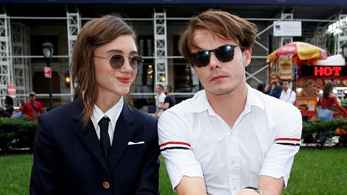 'Stranger Things' co-stars and couple Natalia Dyer and Charlie Heaton
