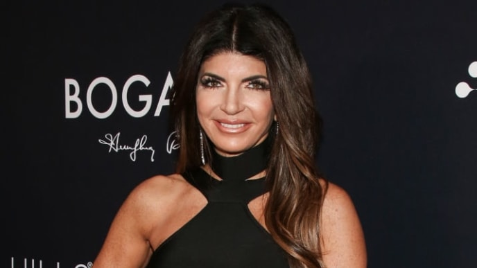 "LOS ANGELES, CALIFORNIA - SEPTEMBER 26:  Reality TV Personality Teresa Giudice attends the Beverly Hills Rejuvenation Center's ""Eternal Beauty"" celebration on September 26, 2019 in Los Angeles, California. (Photo by Paul Archuleta/Getty Images)"