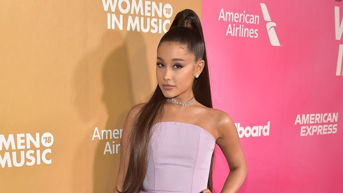 NEW YORK, NY - DECEMBER 06:  Ariana Grande attends Billboard's 13th Annual Women In Music Event at Pier 36 on December 6, 2018 in New York City.  (Photo by Theo Wargo/Getty Images)