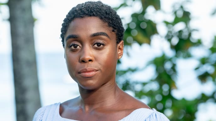 "MONTEGO BAY, JAMAICA - APRIL 25: Actress Lashana Lynch attends the ""Bond 25"" Film Launch at Ian Fleming's Home ""GoldenEye"", on April 25, 2019 in Montego Bay, Jamaica. (Photo by Roy Rochlin/Getty Images for Metro Goldwyn Mayer Pictures)"
