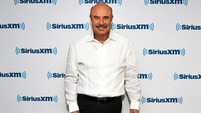 NEW YORK, NY - APRIL 25:  (EXCLUSIVE COVERAGE) Dr Phil visits SiriusXM Studios on April 25, 2018 in New York City.  (Photo by Slaven Vlasic/Getty Images)