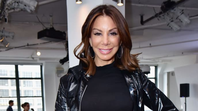 NEW YORK, NY - FEBRUARY 08:  Danielle Staub attends Cosmopolitan NYFW on February 8, 2019 in New York City.  (Photo by Sean Zanni/Getty Images for Cosmopolitan NYFW)