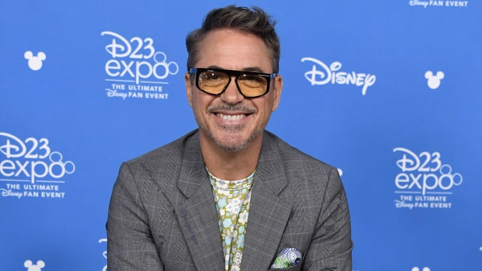 ANAHEIM, CALIFORNIA - AUGUST 23: Robert Downey Jr. attends D23 Disney Legends event at Anaheim Convention Center on August 23, 2019 in Anaheim, California. (Photo by Frazer Harrison/Getty Images)