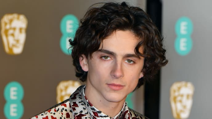 LONDON, ENGLAND - FEBRUARY 10:  Timothée Chalamet attends the EE British Academy Film Awards at Royal Albert Hall on February 10, 2019 in London, England. (Photo by Pascal Le Segretain/Getty Images)