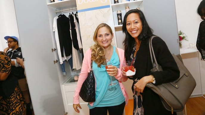 NEW YORK, NY - SEPTEMBER 30:  Downy and California Closets are displayed during the Fall Fashion Event With Downy hosted by ELLE Magazine And Helena Glazer Of Brooklyn Blonde  on September 30, 2013 in New York City.  (Photo by Astrid Stawiarz/Getty Images for ELLE Magazine)