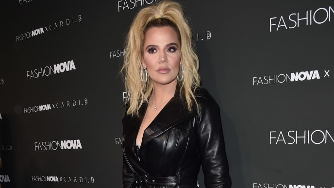 HOLLYWOOD, CALIFORNIA - NOVEMBER 14: Khloe Kardashian attends the Fashion Nova x Cardi B Collaboration Launch Event at Boulevard3 on November 14, 2018 in Hollywood, California. (Photo by Alberto E. Rodriguez/Getty Images)