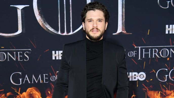 "NEW YORK, NEW YORK - APRIL 03: Kit Harington attends the ""Game Of Thrones"" Season 8 Premiere on April 03, 2019 in New York City. (Photo by Dimitrios Kambouris/Getty Images)"