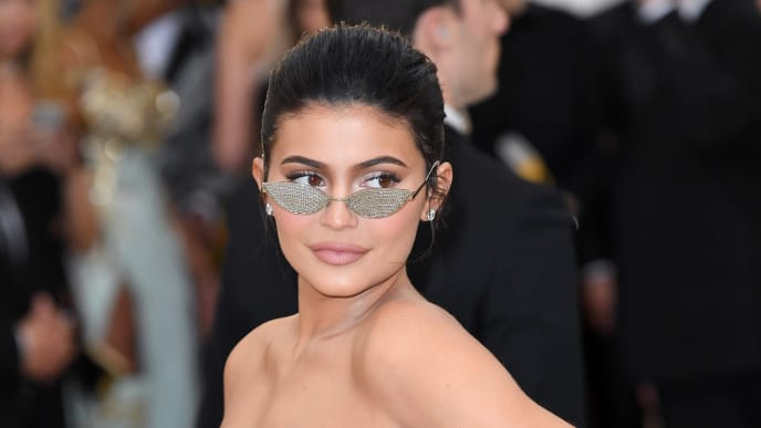 NEW YORK, NY - MAY 07:  Kylie Jenner attends the Heavenly Bodies: Fashion & The Catholic Imagination Costume Institute Gala at Metropolitan Museum of Art on May 7, 2018 in New York City.  (Photo by Karwai Tang/Getty Images)